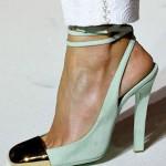 YSL 19 150x150 Metalik Burunlu Ayakkabı Modelleri