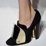 YSL shoes spring 2012 150x150 Metalik Burunlu Ayakkabı Modelleri