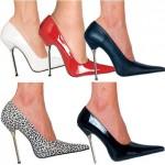 Yuksek Topuklu Sivri Burun Ayakkabi Modeli1 150x150 İddialı Sivri Topuklu Modelleri