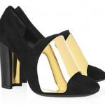 Yves Saint Laurent Cardinal Loafers 150x150 Metalik Burunlu Ayakkabı Modelleri