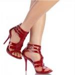 kirmizi yazlik ayakkabi 150x150 Yazlık Ayakkabı Modelleri