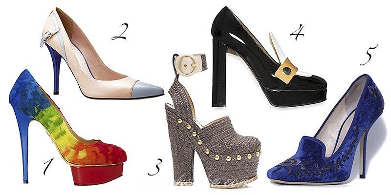 2013 yaz sezonu ayakkabı modelleri